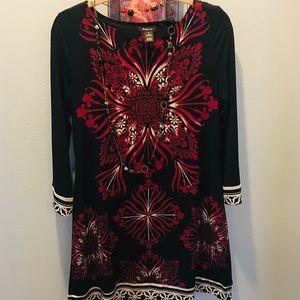 👗Style & Co Floral Starburst Dress